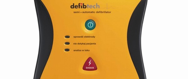 Defibrylator AED Lifeline z 7-letnią baterią