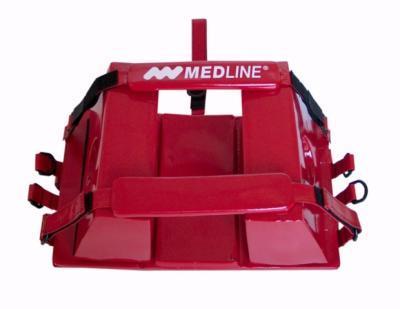 Stabilizator głowy klockowy – czerwony
