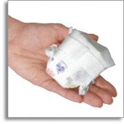 Pieluszki Wee Pee Diapersc, rozm M   1op  (30szt)