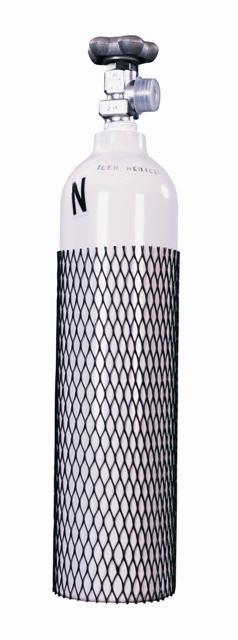 Butla 2,0 l LUXFER aluminiowa z zaworem