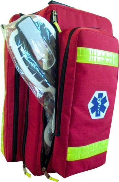 Plecak MED PACK z napisem PSP R1, czerwony