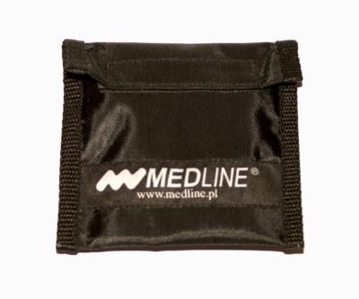 Saszetka osobista  mała, czarna z logo Medline