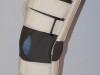 Stabilizator kolana z usztywnieniem i rzepami