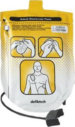 Elektrody do defibrylatora LIFEline AED dla dorosłych  – 1 para