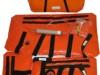 Zestaw szyn próżniowych (pomarańczowe)