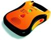 Defibrylator Lifeline AED na stacji szybkiego tramwaju w Krakowie