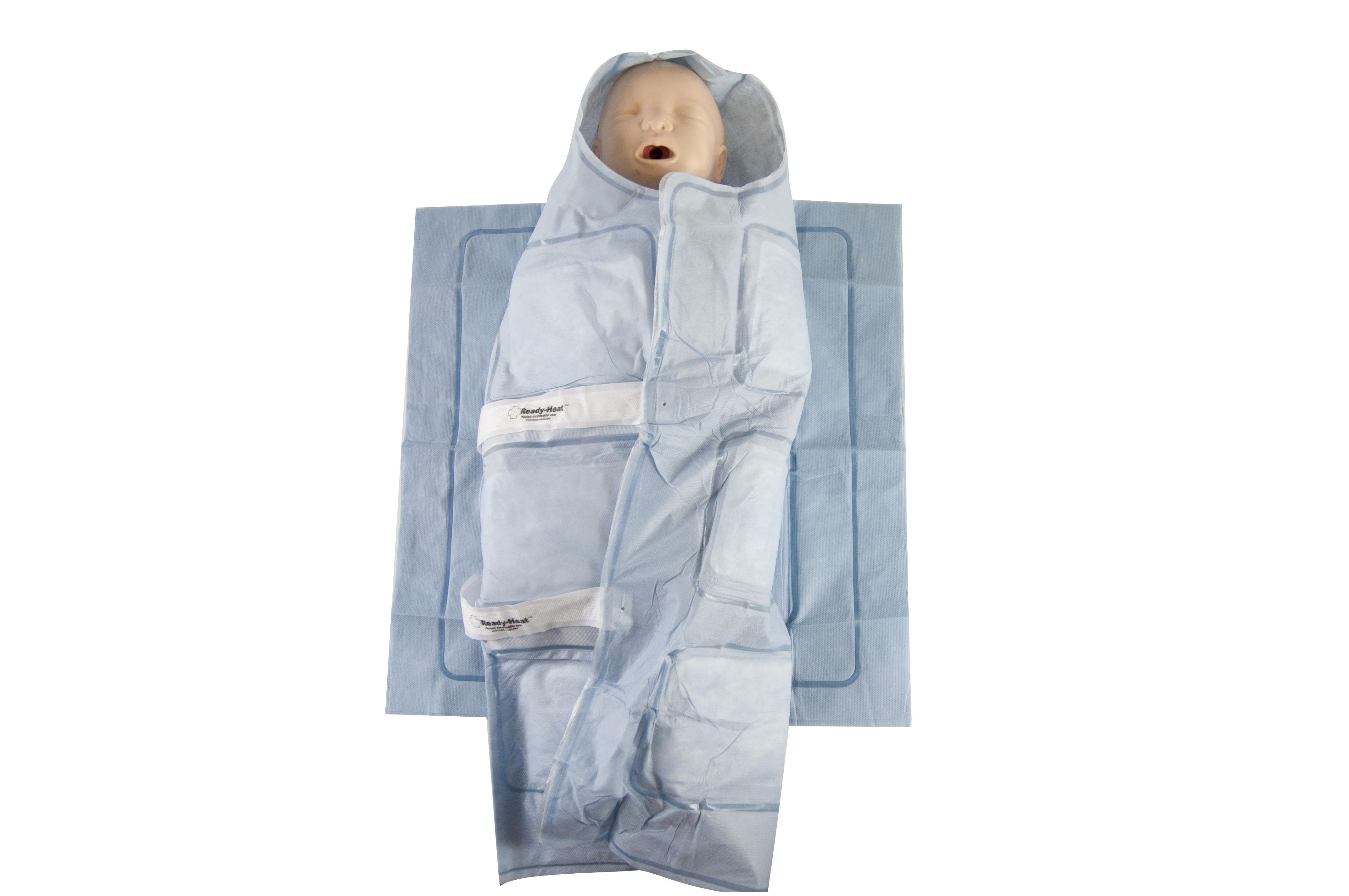 Śpiwór pediatryczny aktywnie grzewczy