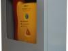 Szafka na AED z alarmem akustycznym