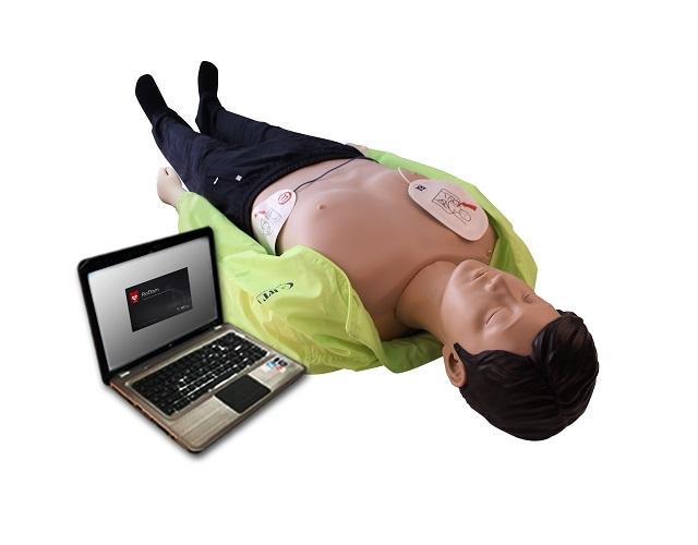 Kelvin – pełnopostaciowy symulator RKO z defibrylacją i spontanicznym oddechem