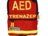 Torba na defibrylator AED Lifeline szkoleniowy / czerwona