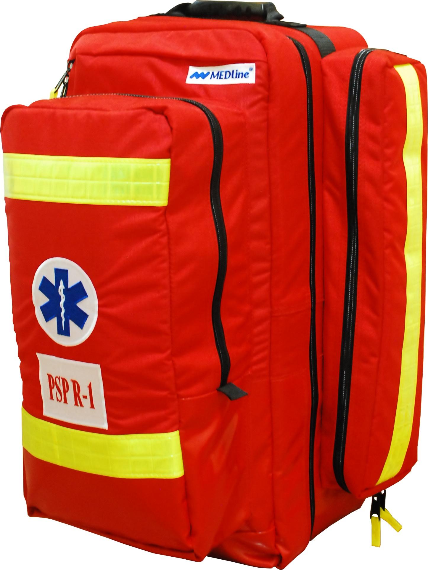 Zestaw ratowniczy PSP R1 w plecaku Med Pack dla Straży Pożarnej