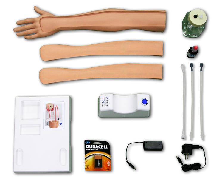 Zaawansowane ramię do iniekcji dożylnych