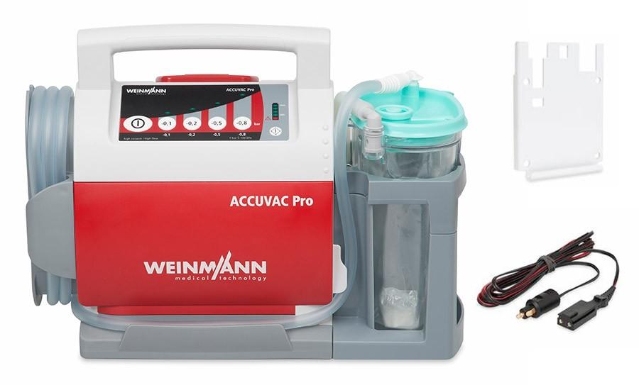 Ssak akumulatorowy ACCUVAC Pro – z pojemnikiem jednorazowego użytku