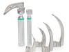 Zestaw Laryngoskop – rękojeść światłowodowa z łyżkami MC 3-4 Galemed PROMOCJA!