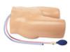 Fantom do nauki wykonywania centralnych dostępów naczyniowych przez żyłę i tętnicę udową pod kontrolą USG z ręczną pompką  Blue Phantom