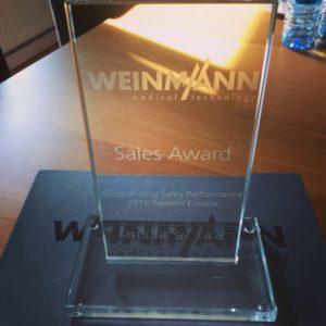 Nagroda od firmy Weinmann