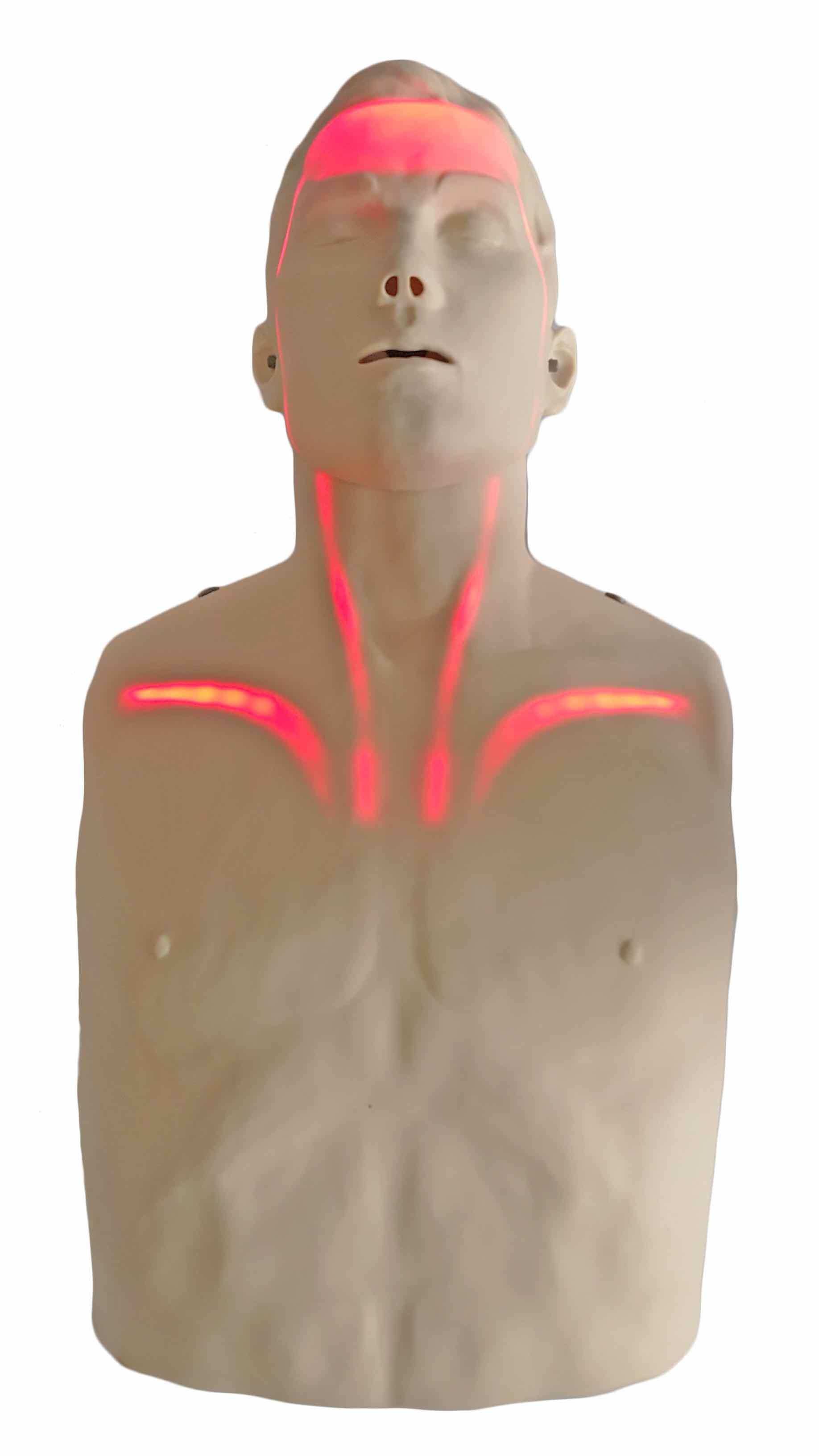 BRAYDEN – innowacyjny symulator do nauki RKO, BLS ze wskaźnikami świetlnymi