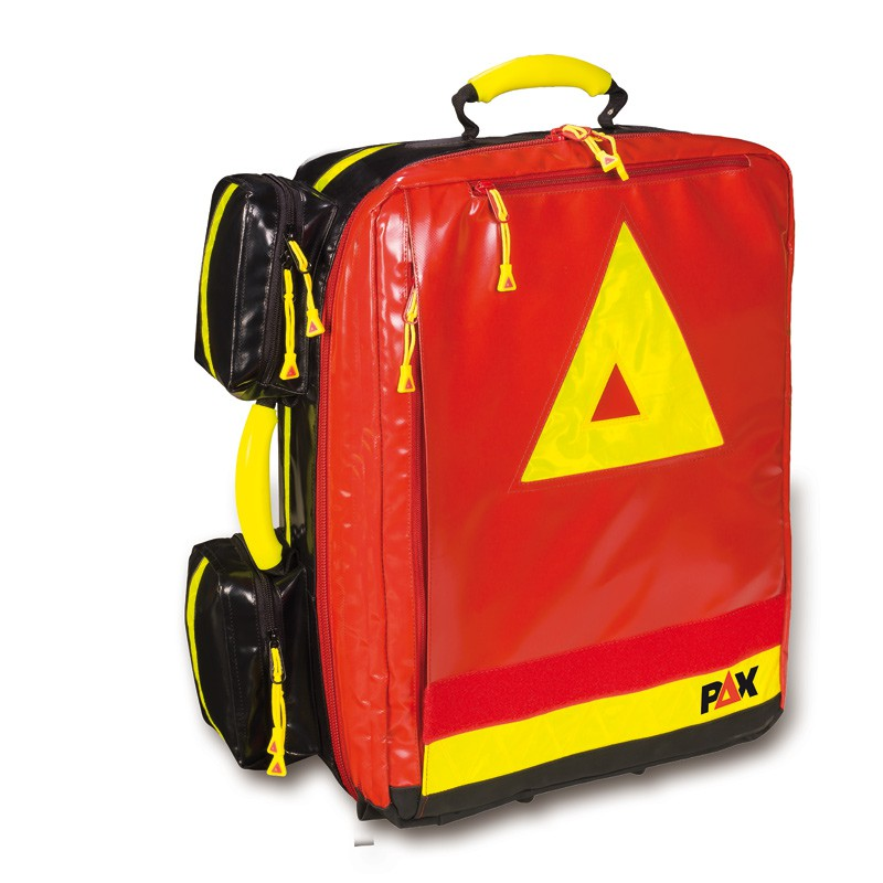 Plecak medyczny Wasserkuppe L – ST Pax-Plan, czerwony