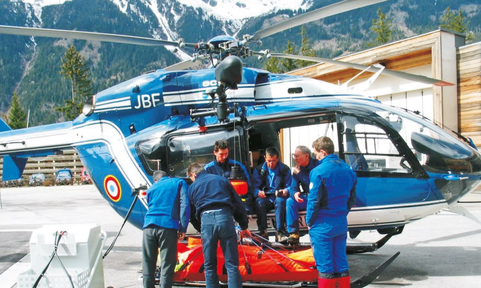 Nosze VM 114/2 typu Rescue Sack do transportu śmigłowcem
