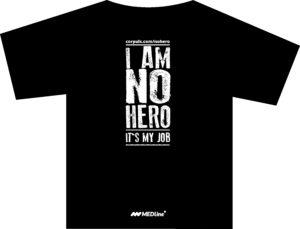 Medline koszulka czarna