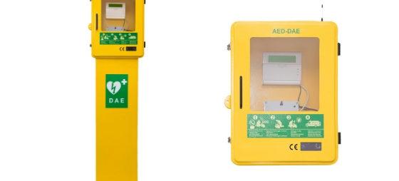 Funkcjonalne szafki zewnętrzne AED