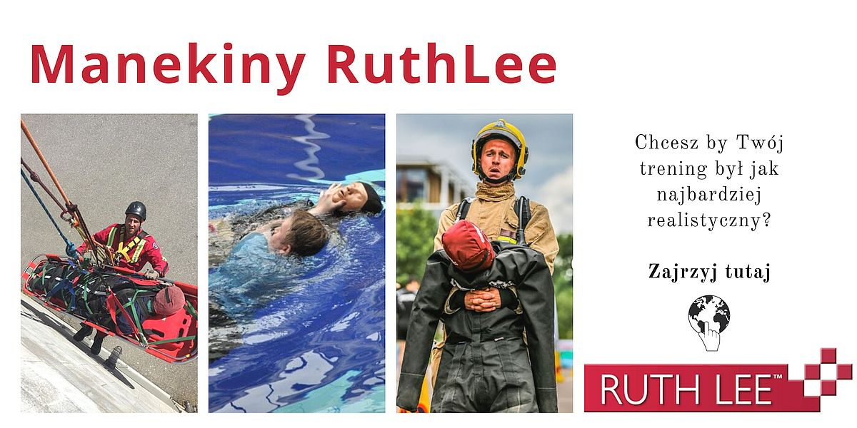 Manekiny ewakuacyjne Ruth Lee