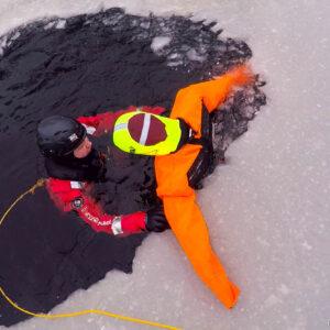 Ratownictwo lodowe bez pozorantów